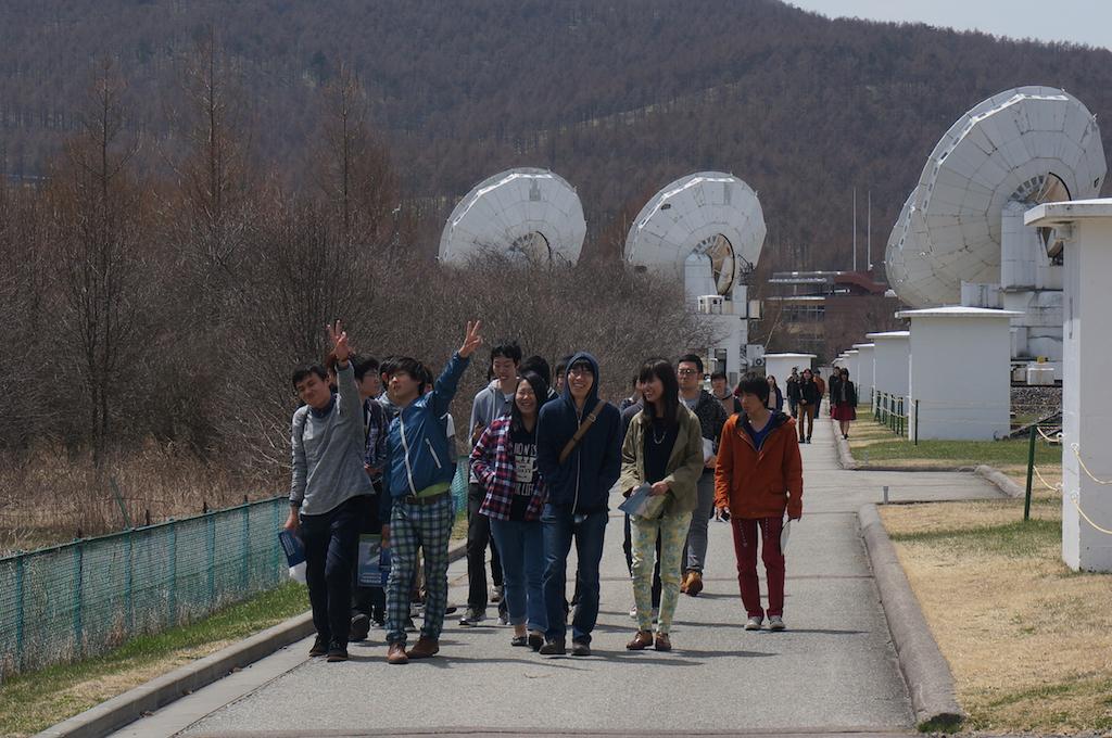 野辺山天文台見学